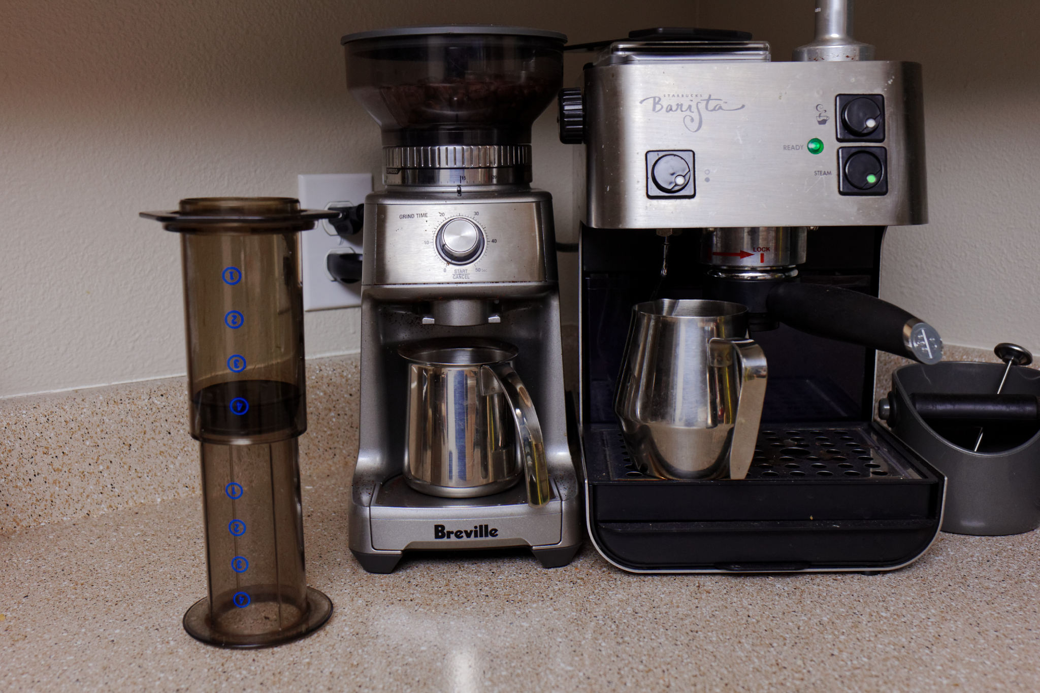 Peter's Coffee Setup